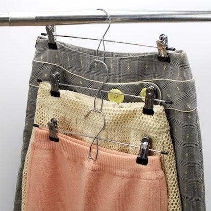 Tosnail Metal Pants Hangers (12 Pack)
