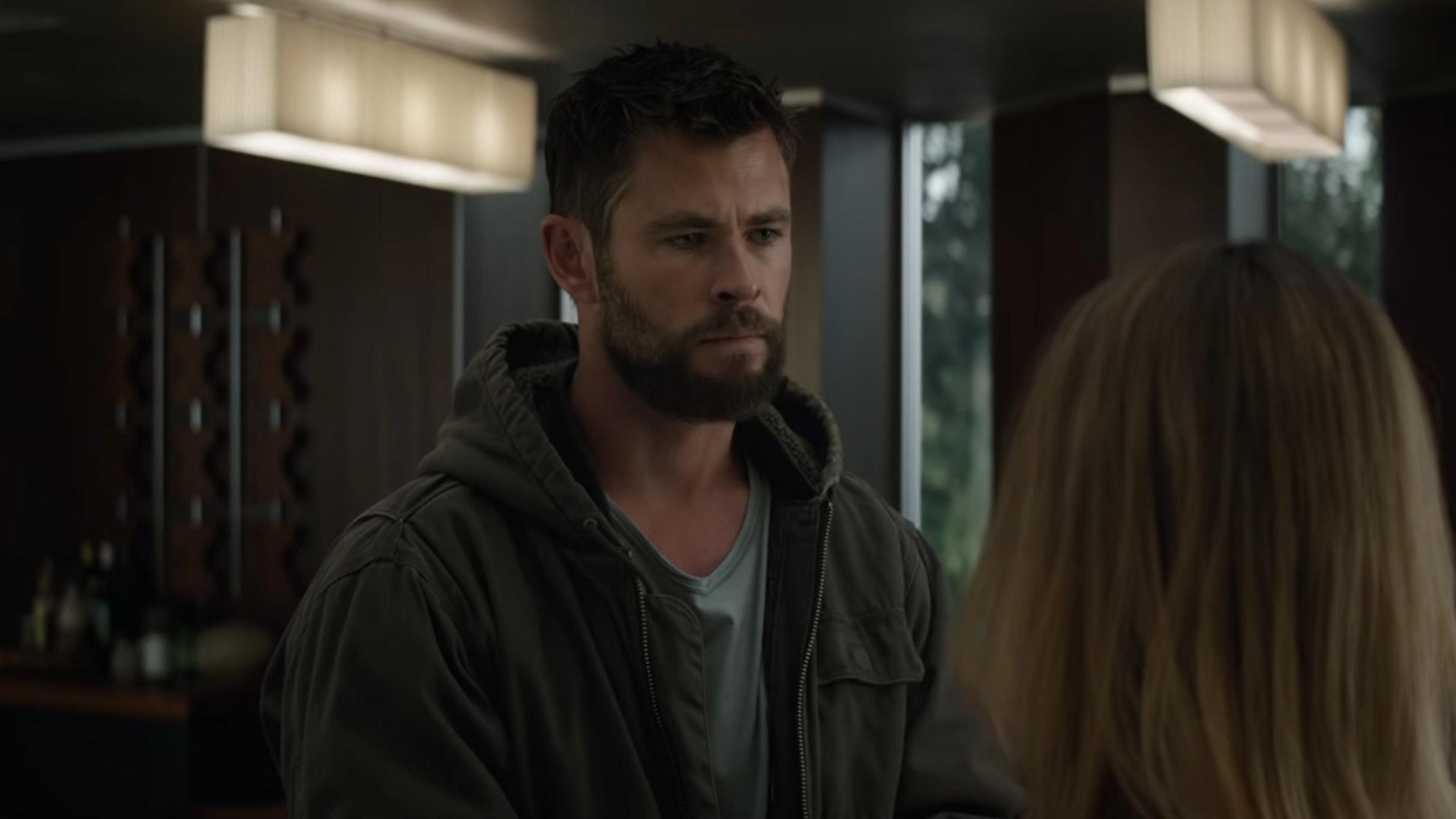 thor's 'avengers: endgame' beard has inspired a thundering twitter