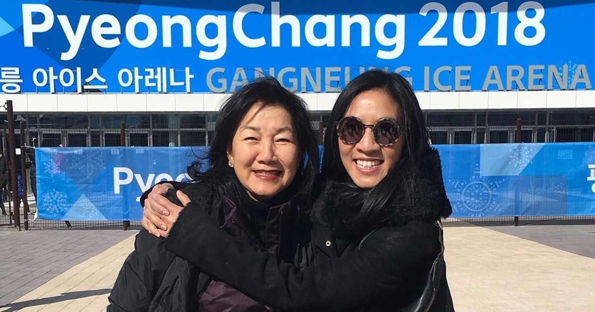 Without This Woman, Michelle Kwan Wouldn't Have Been An Athlete — And So Much More