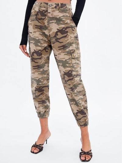 Baggy Camouflage Pants