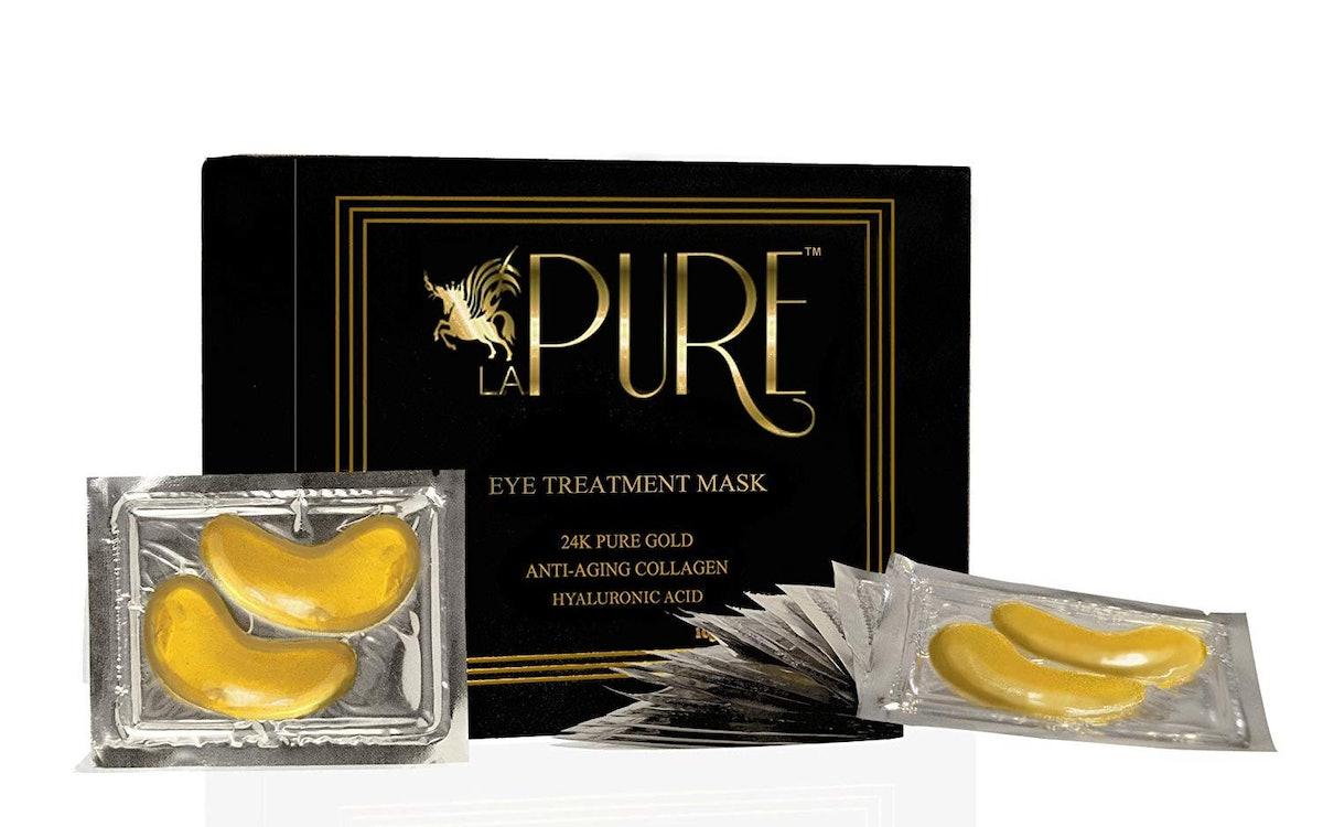 LA PURE 24K Gold Eye Treatment Mask (Pack of 15)