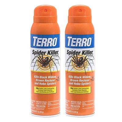Terro Spider Killer Aerosol Spray, 16 Fl. Oz. (2-Pack)