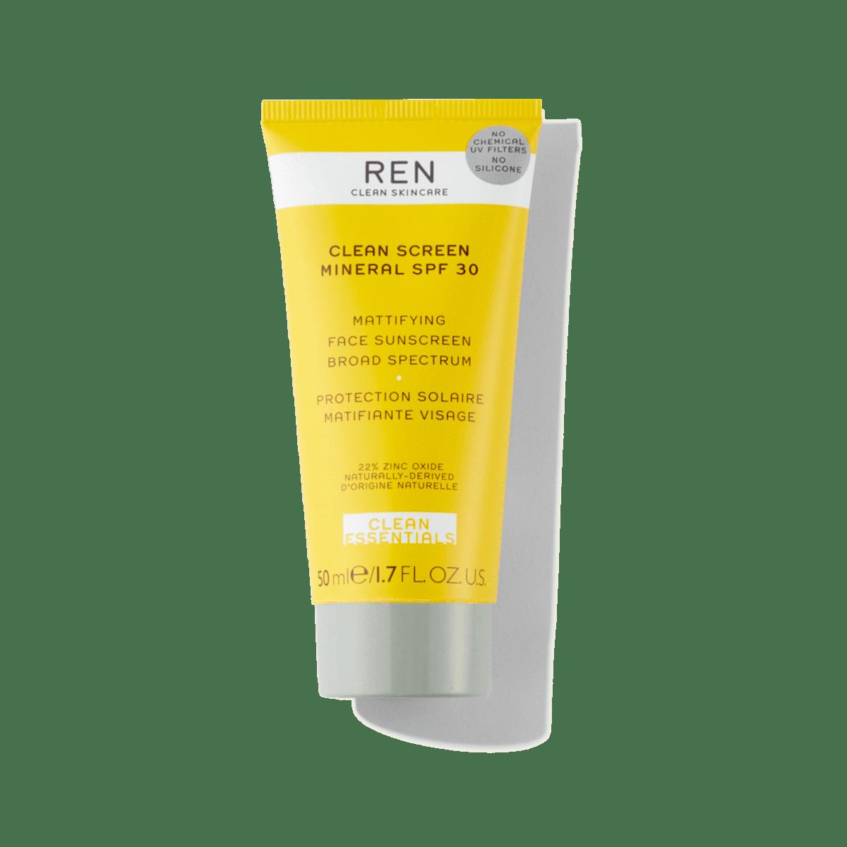 REN Clean Screen Mattifying Face Sunsceen