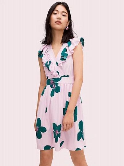 Grand Flora A-Line Dress