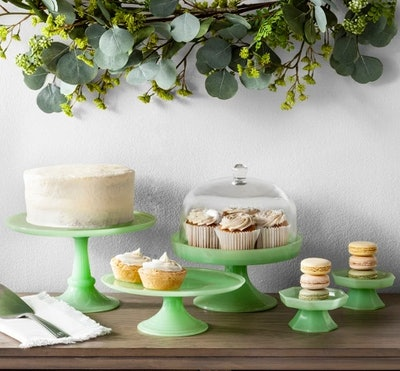 Milk Glass Cake Stand - Hearth & Hand™ with Magnolia