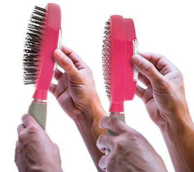 Qwik-Clean Self Cleaning Hair Brush