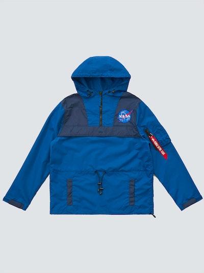 Color Blocked NASA Anorak