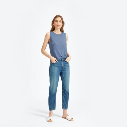 The Summer Jean in Mid Blue