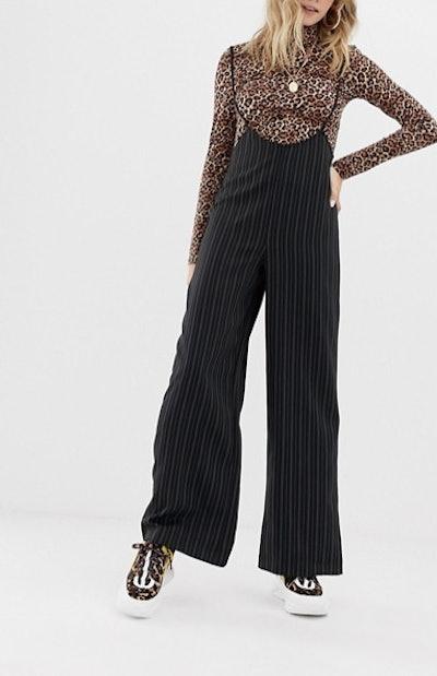 Reclaimed Vintage Inspired Pinstripe Pants