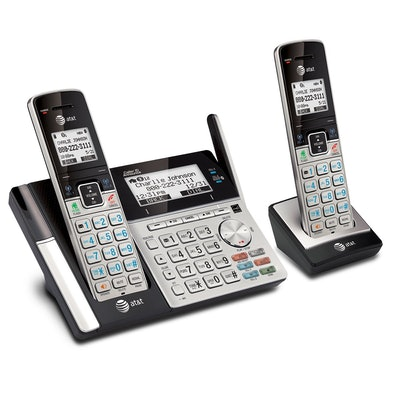 AT&T TL96273 DECT 6.0 Expandable Cordless Phone With 2 Handsets