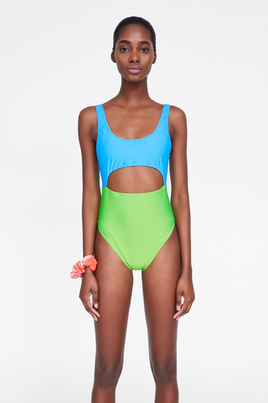 9ce3acb3699 What's In Zara's 2019 Swimwear Collection? There's Asymmetric Swimsuits,  Bucket Bags, & Sandals From The Future