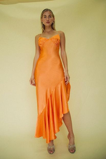 Allegra Dress Orange