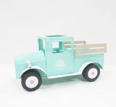 Vintage Easter Truck Blue