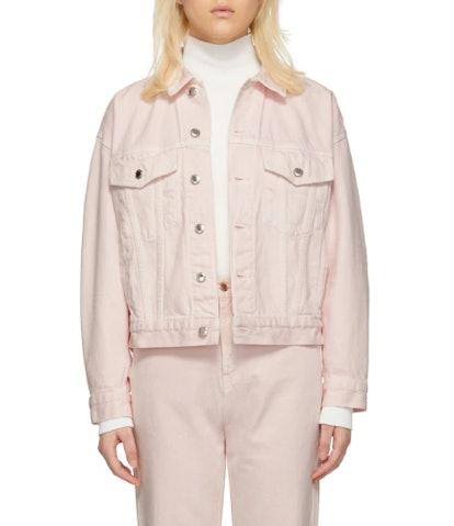 Pink Denim Game Jacket