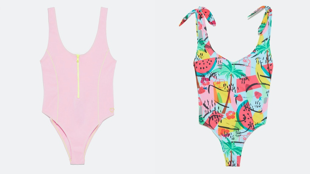 3b7486070cd What's In Zara's 2019 Swimwear Collection? Every Trendy Print You Could  Ever Want