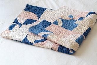 Marram Naturally Dyed Quilt