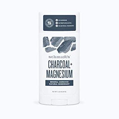 Charcoal + Magnesium Natural Deodorant