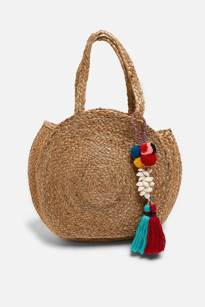 Round Jute Bag