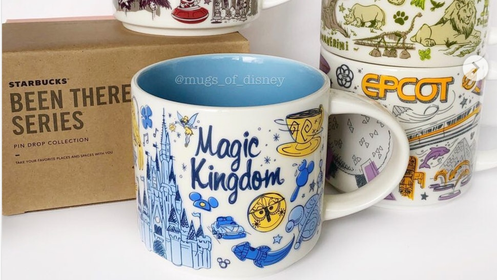 Starbucks New Disney Parks Mugs Will Whisk You Away To The