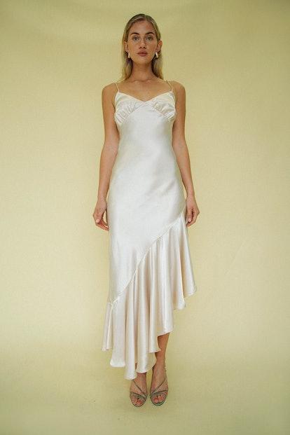 Allegra Dress Champagne