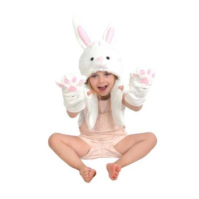 Bunny Hat & Glove Set