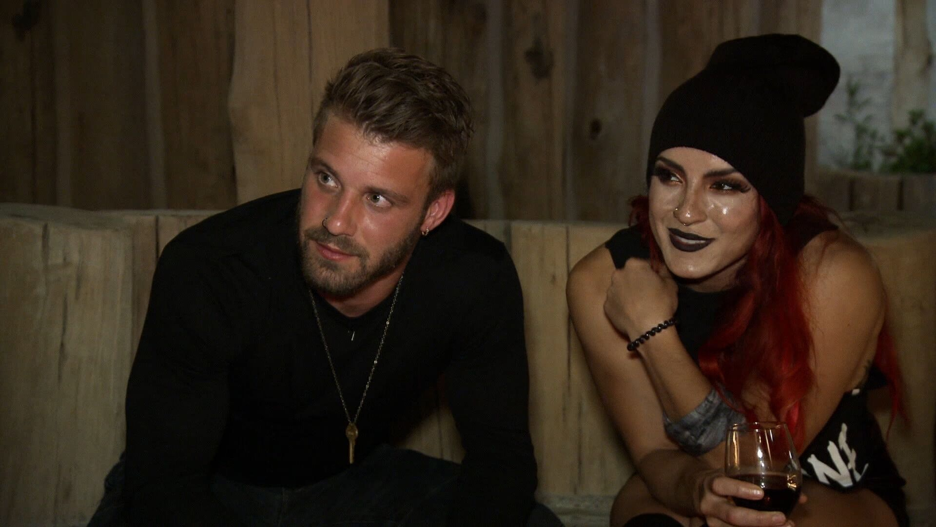 who was paulie dating before the challenge