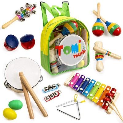 18-Piece Musical Instrument Set