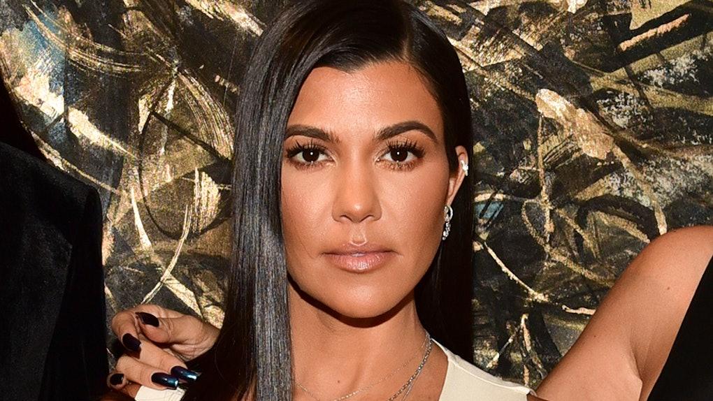 Kourtney Kardashian S Natural Makeup Tutorial Is Actually So Easy To