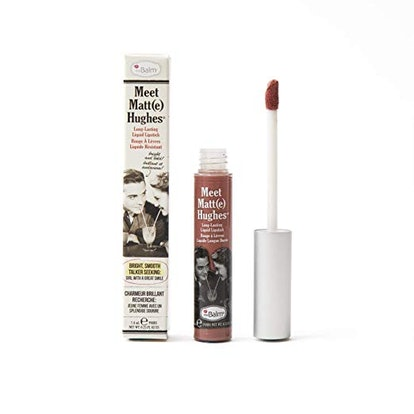 theBalm Meet Matte Hughes Lip Color, Committed