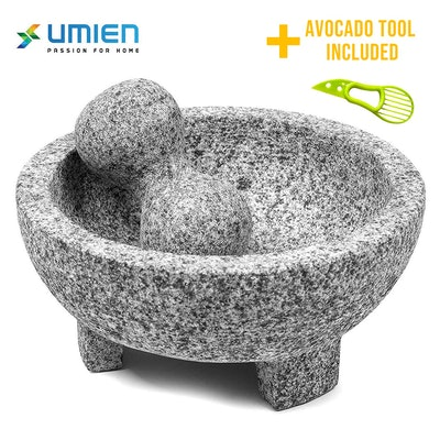 umiem Granite Mortar And Pestle Set