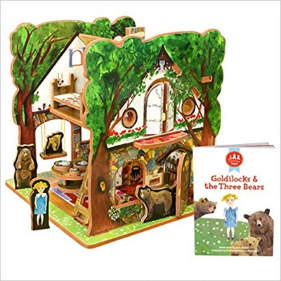 Goldilocks and the Three Bears Book and Toy