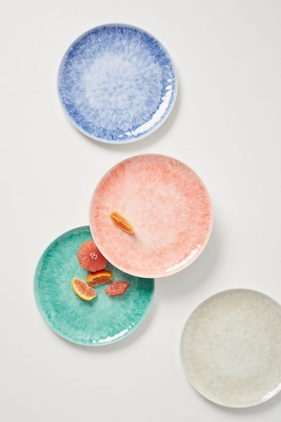 Lehua Melamine Dinner Plates Set of Four