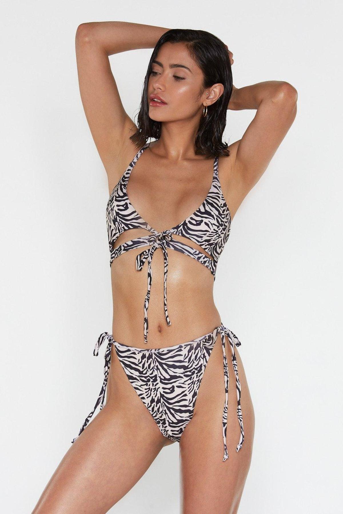 Feel That Ze-Breeze High-Leg Bikini Set