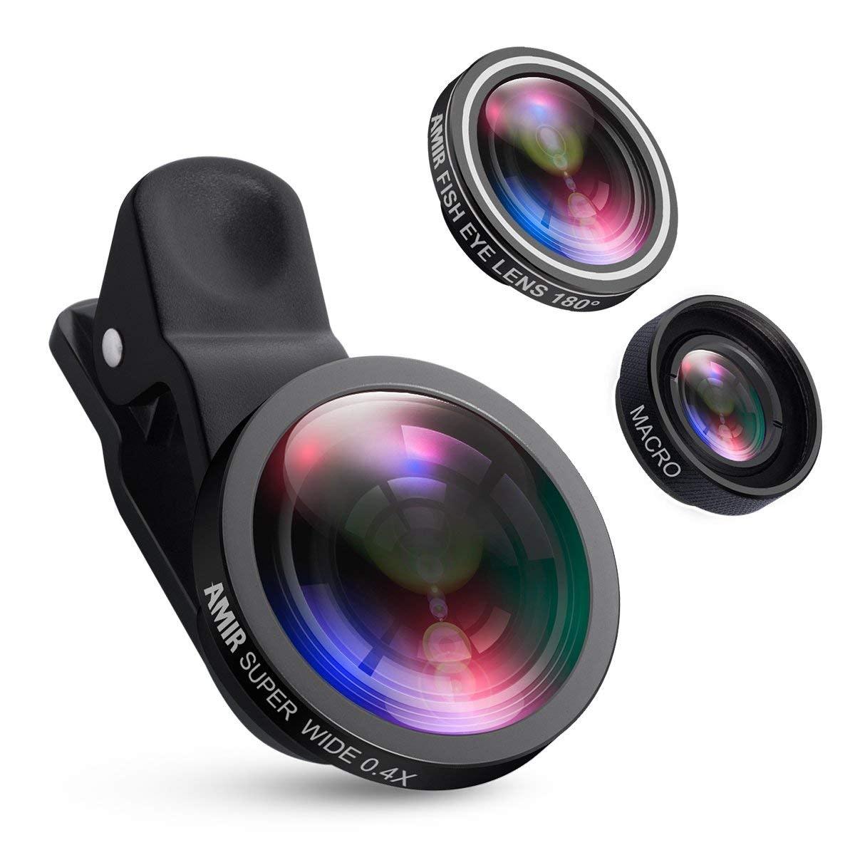 Amir For iPhone Lens Kit