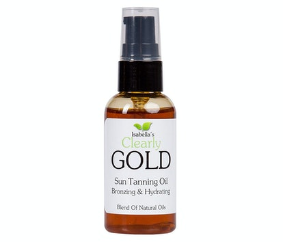 Isabella's Clearly Gold Sun Tanning Oil