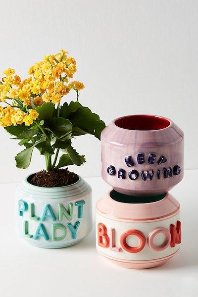 Garden Greeting Pot
