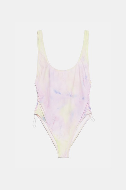 Recycled Capsule Collection Tie Dye Swimsuit