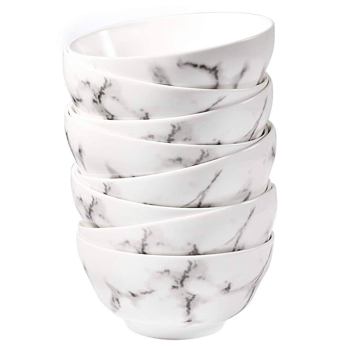 77L Porcelain Soup Bowls (Set of 8)