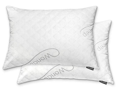 WonderSleep Shredded Hypoallergenic Memory Foam Pillow (2 Pack)