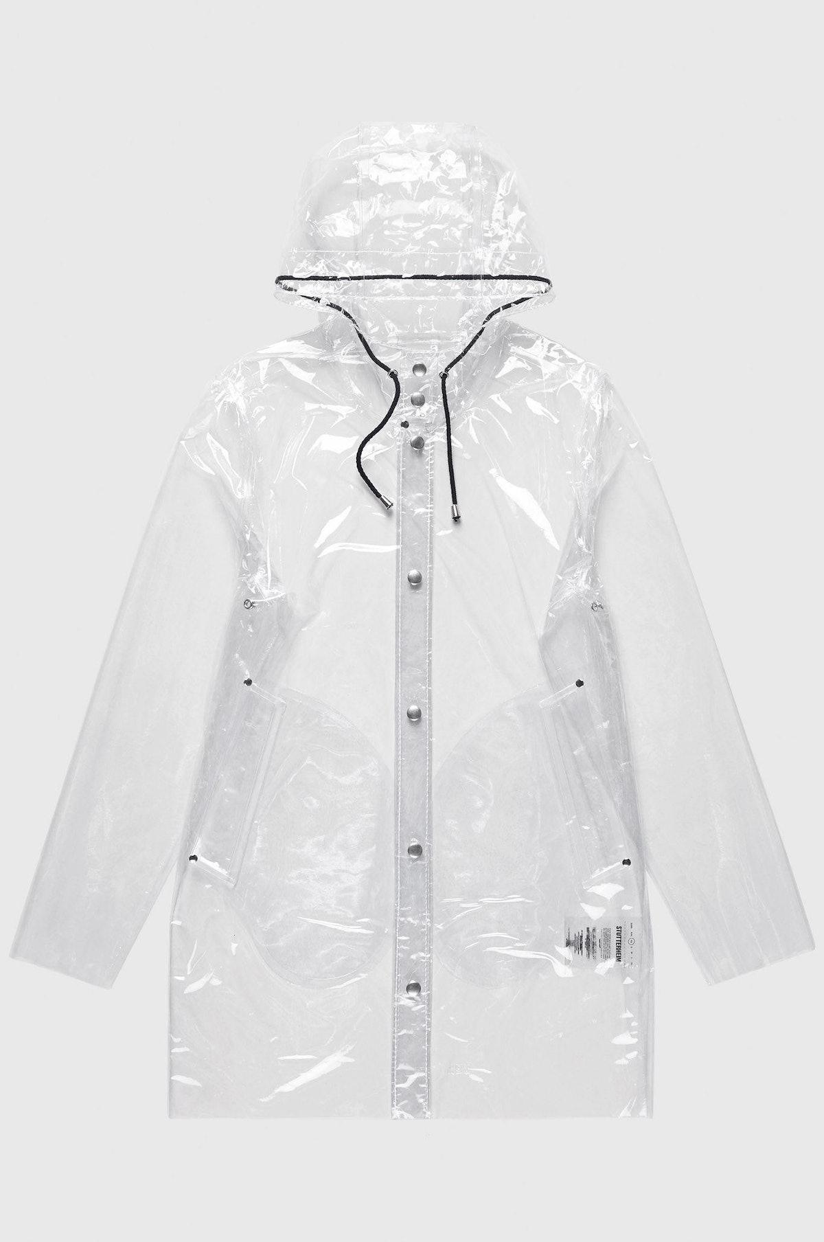 Stockholm Transparent Rain Coat