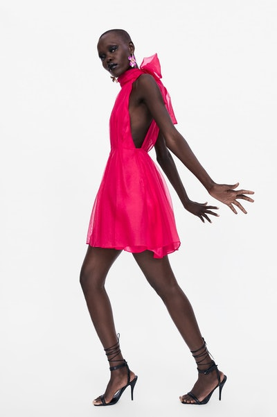 Zara Mini Organza Dress