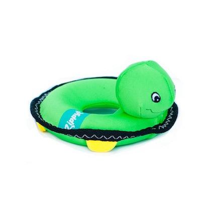 ZippyPaws Floaterz Turtle Squeak Toy