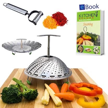 Kitchen Deluxe Vegetable Steamer Basket