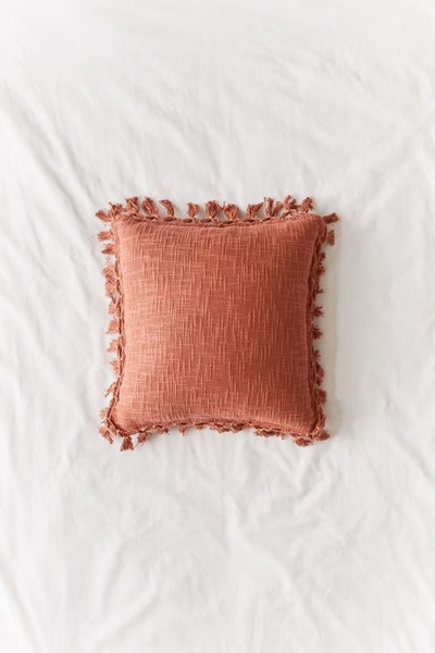 Gemma Fringe Throw Pillow