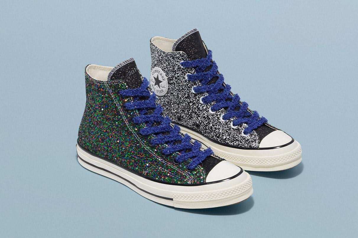 e7f6761c21d7 This Glittery JW Anderson x Converse Collaboration Brings A Whole New  Meaning To Happy Feet