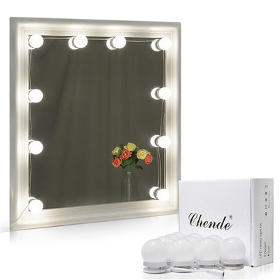 Chende Hollywood Style LED Vanity Mirror Lights Kit (10 Pack)