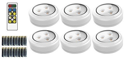 Brilliant Evolution Wireless LED Puck Light (6 Pack)