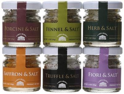 Casina Rossa Gourmet Sea Salt Set (6-Pack)