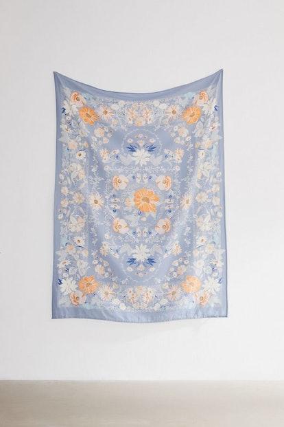 Kimset Folk Floral Tapestry