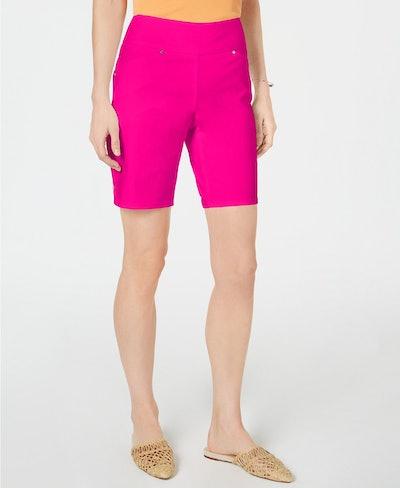 I.N.C. Curvy Bermuda Shorts